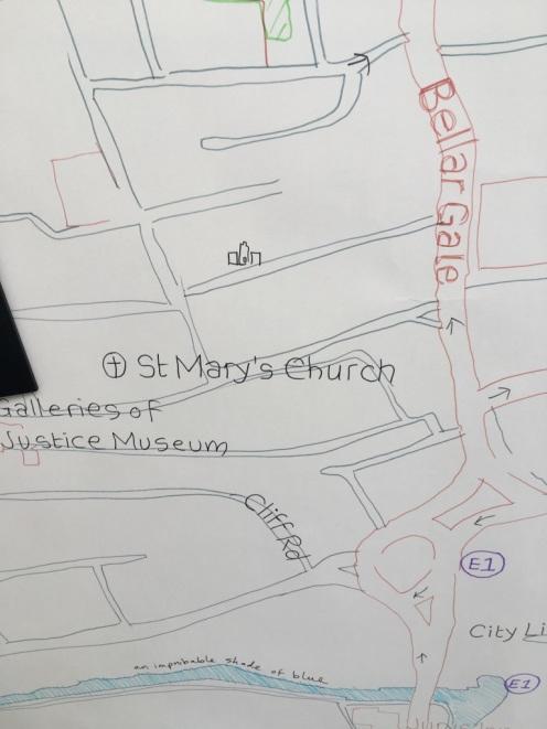 Chriss map Sneinton 8