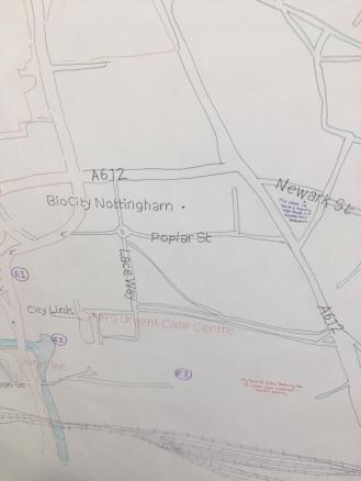 Chris;s Sneinton Map 5
