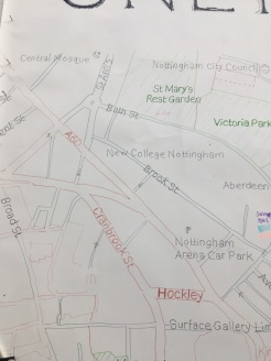Chris's Sneinton Map