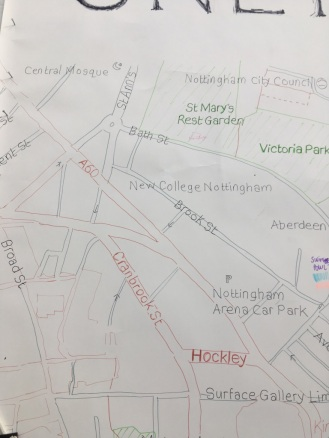 Chris's Sneinton Map