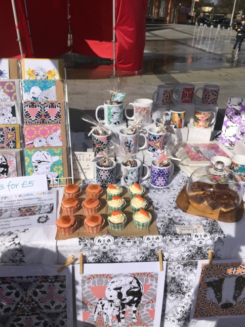 Craft and cake without cruelty
