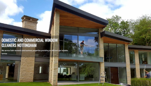 Puretech window cleaning commercial