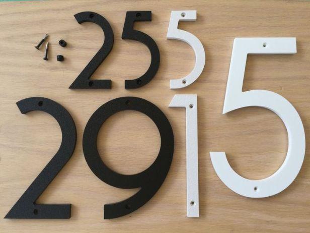 70s door numbers