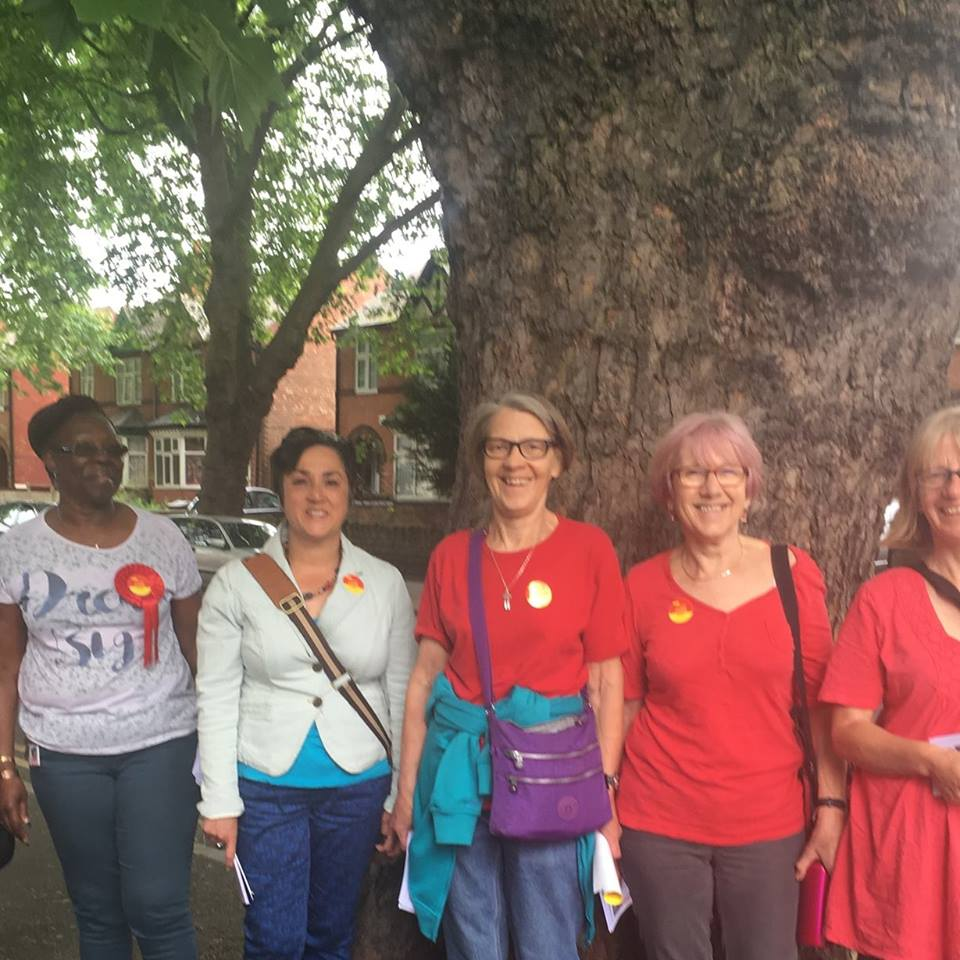 Canvassing in Arboretum friday 2nd June