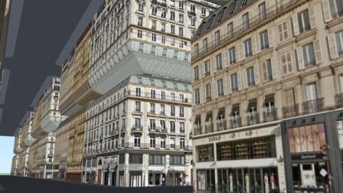 Inception 3d paris sketch