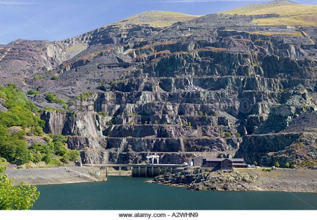Dinorwig Power station snowdonia