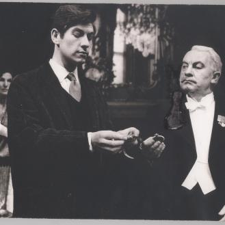 Ian McKellen and Leo McKern in The Life In My Hands, 1963 (1)