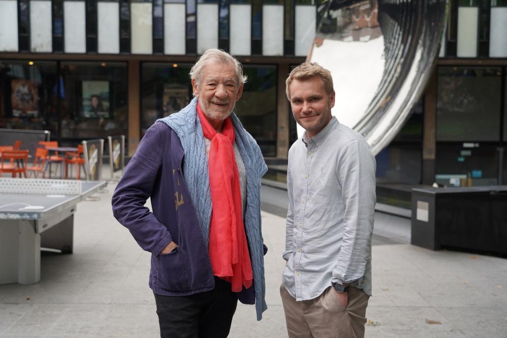Sir Ian McKellen &Adam Penford - NottinghamPlayhouse - June2019 - CREDIT FRASER YOUNGSON