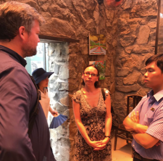 Sophie Fuggle looking at dark tourism in Vietnam