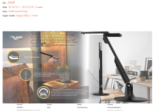 Touchscreen Multifunctional Lamp