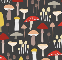 Or Mushrooms In Your Child's Room? Need a Mural?