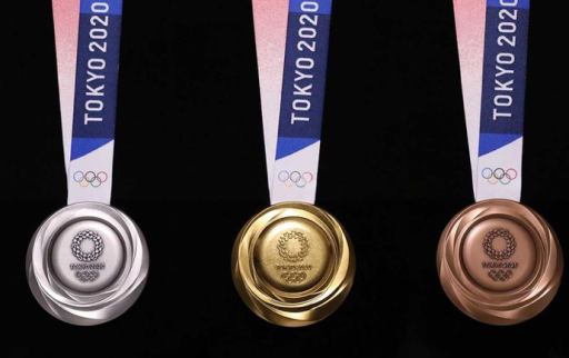 Parlaympic medals made from recycled electroincs