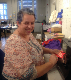 Toni Jarvis Tiger Community Interest Projects Sewing At 38 Carrington Street